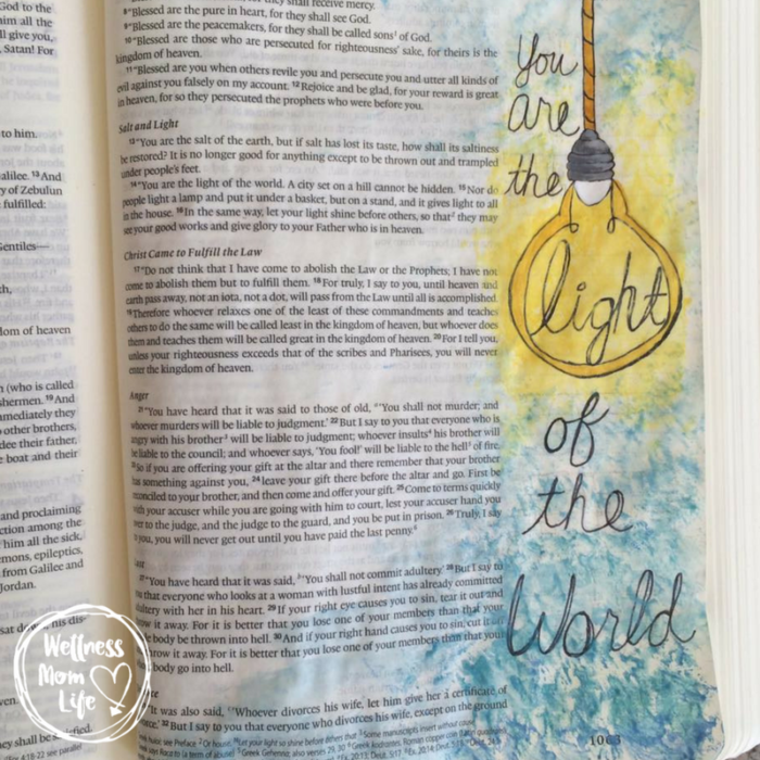 Creative Gift Ideas for Moms in Ministry: Bible Journaling