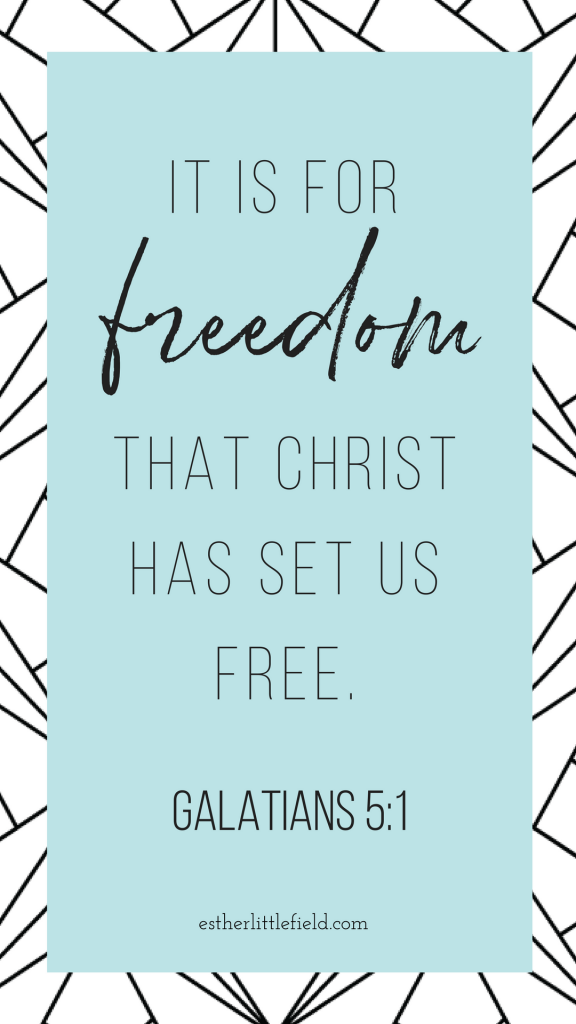 It is for freedom that Christ has set us free. How to live free and fulfilled as a mom