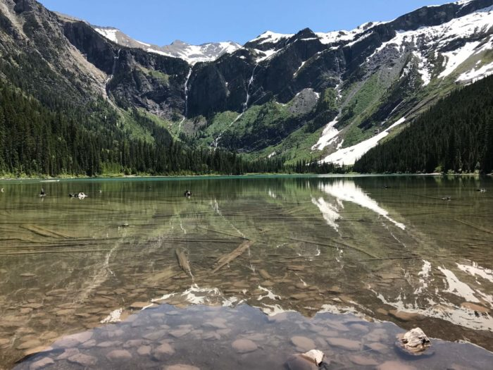 Wild and Free: Avalanche Lake in Glacier National Park