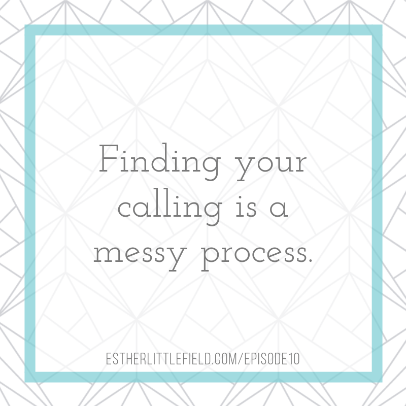 calling, purpose, finding calling