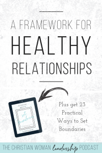 healthy relationships, relationships, leaders, leadership