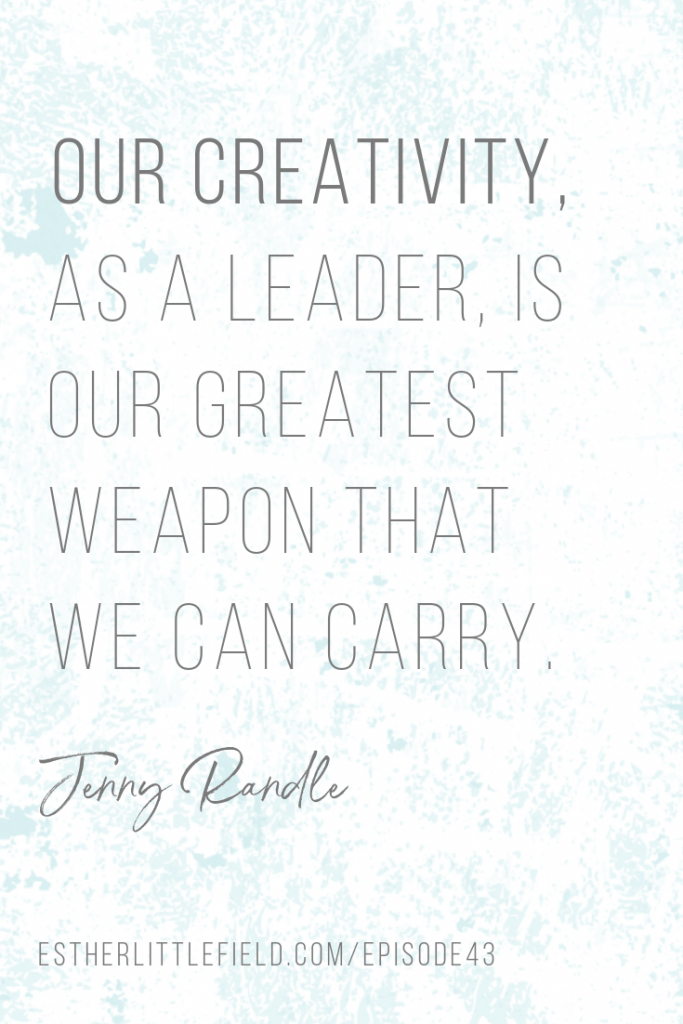creativity, leadership, creativity as a leader