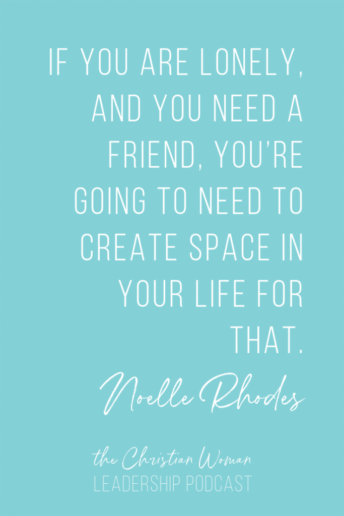 Dealing with Isolation in Ministry and Leadership with Noelle Rhodes