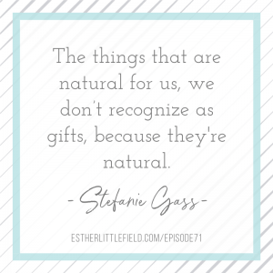 Gain clarity around your calling quote from Stefanie Gass