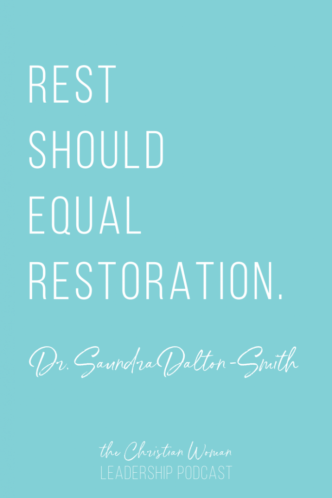 How to Avoid Burnout and Experience True Rest with Dr. Saundra Dalton-Smith