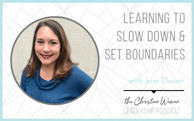 Learning to Slow Down & Set Boundaries with Jenn Clauser [146]