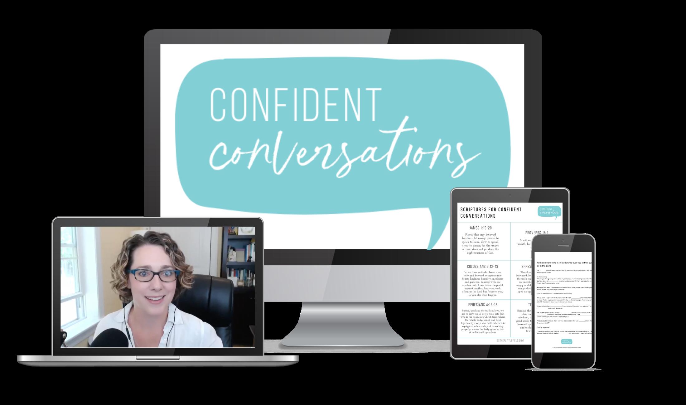 Confident Conversations mini-course