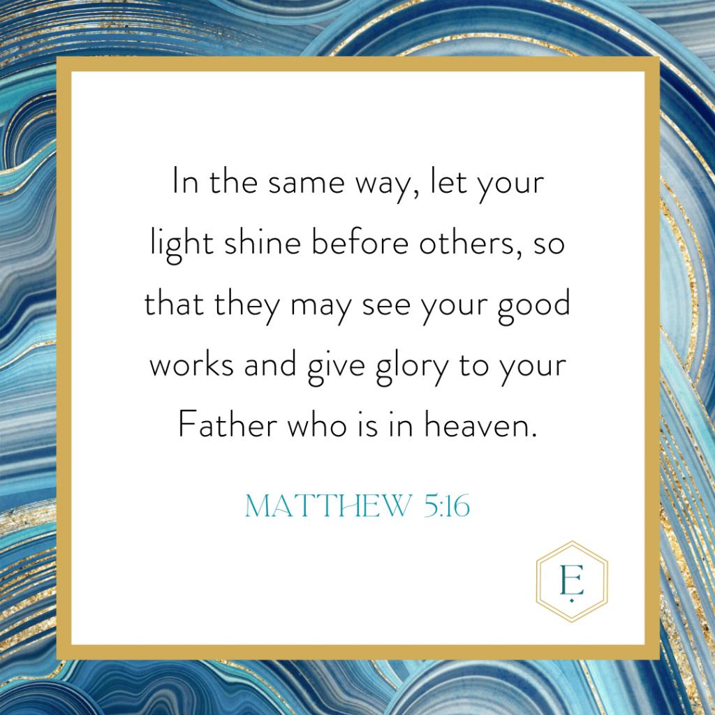 Matthew 5:16 verse