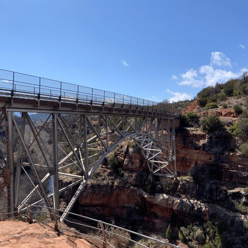 Oak Creek Canyon Bridge