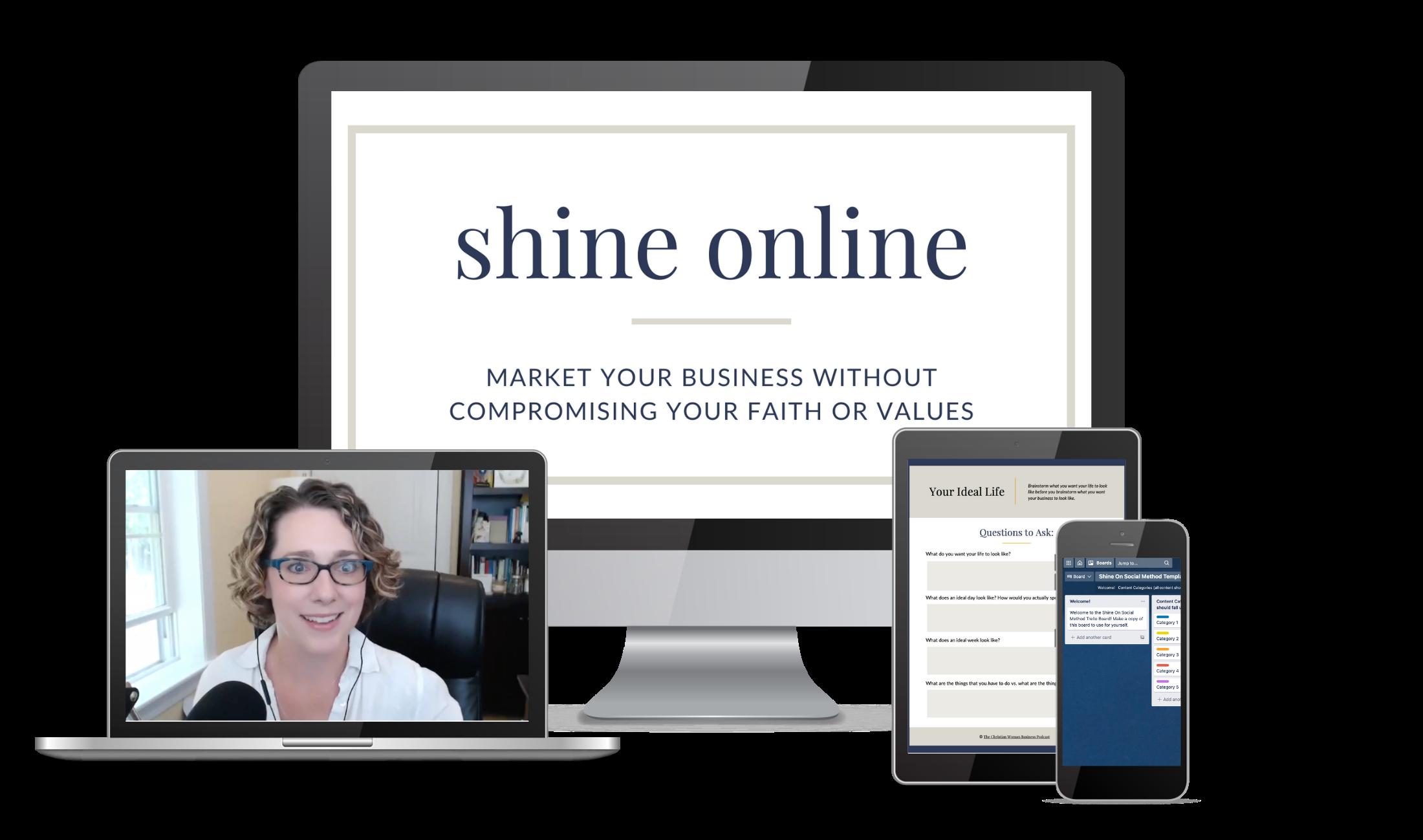 shine online course