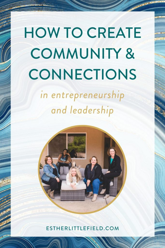 how to create community and connections